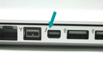 Correctly identifying the Apple Thunderbolt port | Seagate