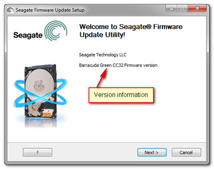 hp seagate hard drive firmware update