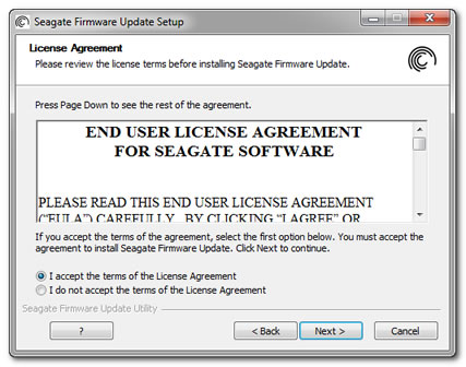 Firmware Update Utility Instructions and FAQ | Seagate Support