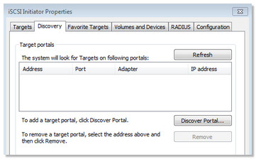 Business Storage NAS - How to enable an iSCSI target in