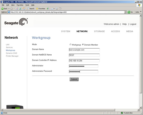 Seagate blackarmor nas 110 drivers download update seagate software.