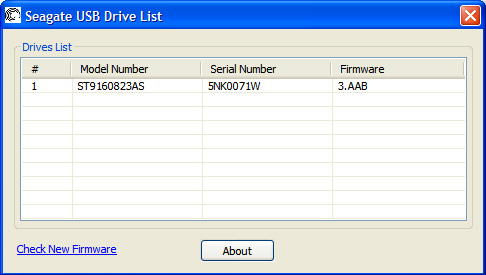 Drive Serial Number Detection on non-Seagate USB Devices | Seagate