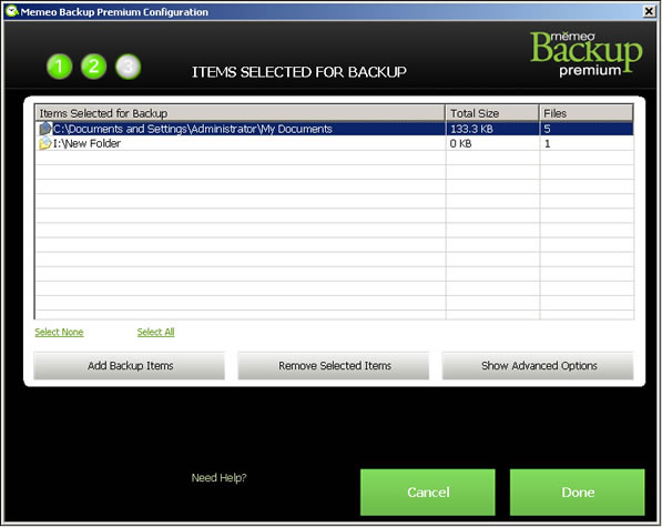 Memeo Premium/Instant - Changing Your Backup Plan | Seagate