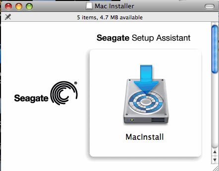 Driver for seagate freeagent for mac