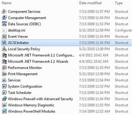 BlackArmor NAS - Setting up an iSCSI Target and Device for Windows