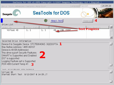 SeaTools for DOS tutorial | Seagate Support